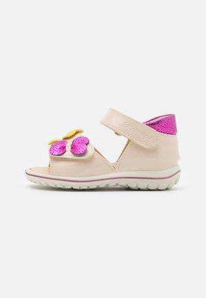 Sandals - sabbia/magenta