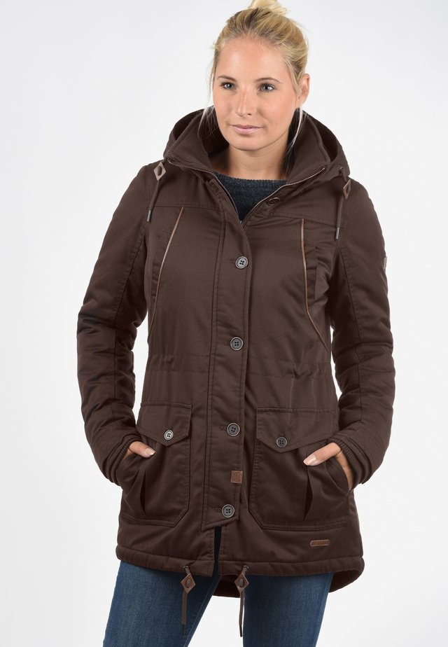 PARKA ANNABELLE - Veste d'hiver - dark brown