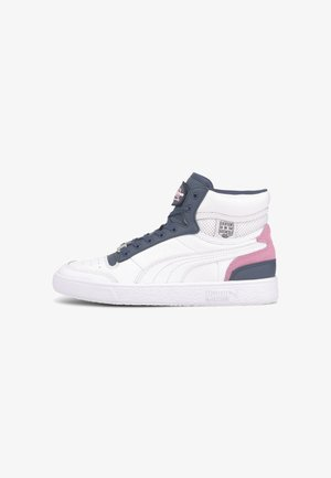 X VON DUTCH RALPH SAMPSON - Baskets montantes - white-dark denim