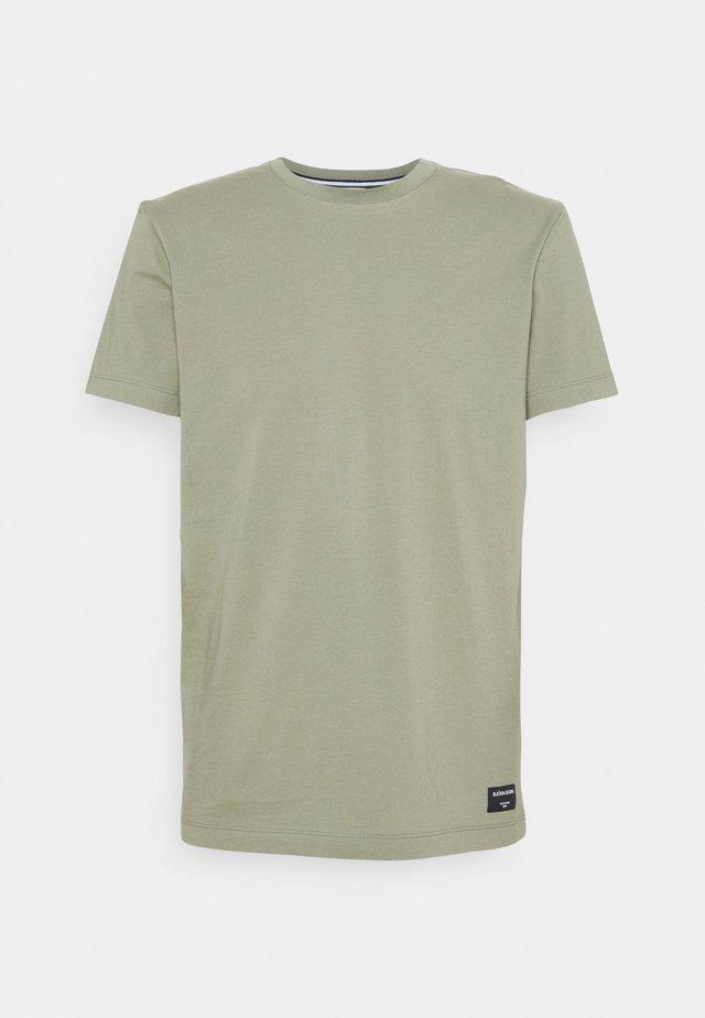 CENTRE TEE - T-shirt basic - oil green