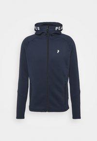 Peak Performance - RIDER ZIP HOOD - Fleece jacket - blue shadow - 0