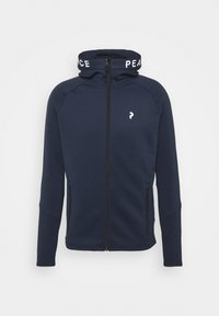 RIDER ZIP HOOD - Fleece jacket - blue shadow