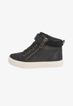 ELASTIC LACE HIGH TOP - Sneaker high - black