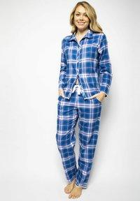 Cyberjammies - Pyjamapaita - blue chks - 1