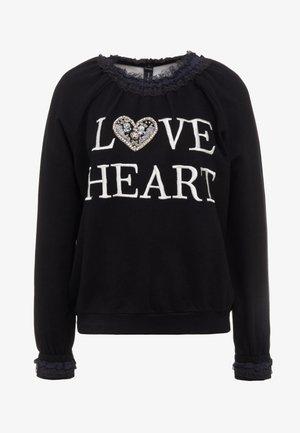 LOVE HEART SWEAT - Sweatshirt - graphite