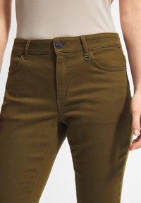 comma - Slim fit jeans - dark green - 2
