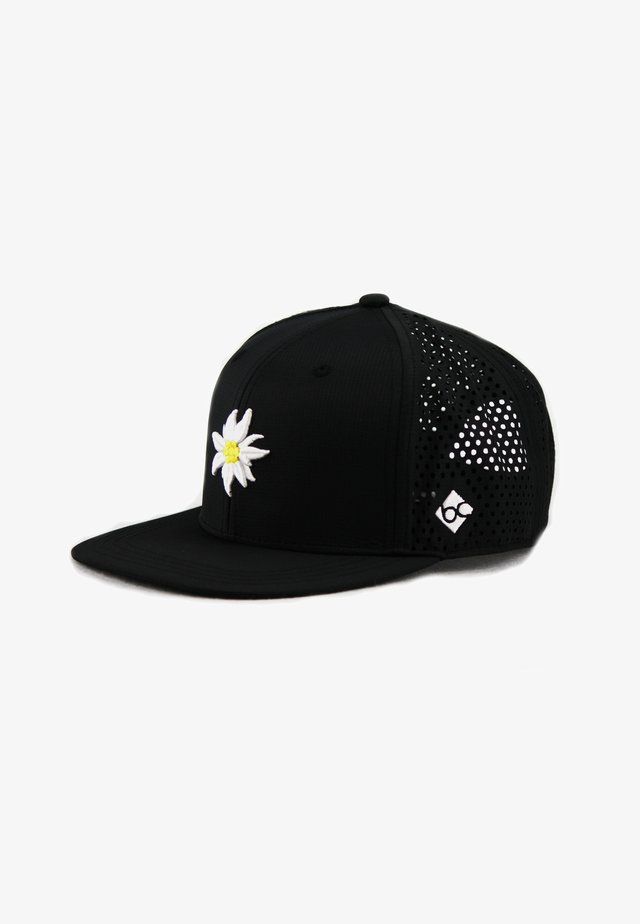 EDELWEISS - Cap - schwarz