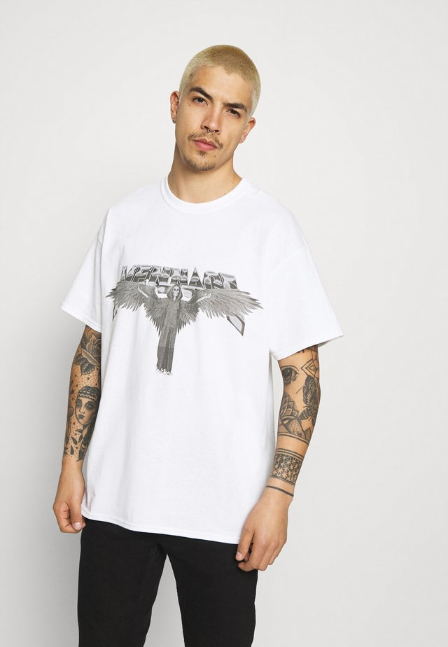 OVERSIZED - Print T-shirt - white