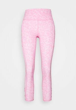 LOVE YOU A LATTE 7/8 - Leggings - tonal pinks