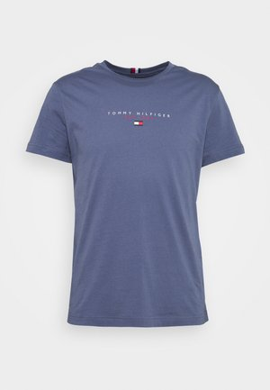 ESSENTIAL - Print T-shirt - faded indigo