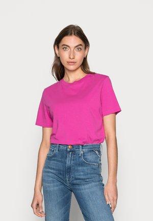 SLFMY PERFECT SS TEE BOX CUT COLOR B - Basic T-shirt - rose violet