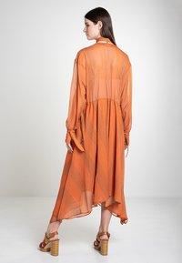 Mykke Hofmann - CHIF - Maxi dress - orange - 2