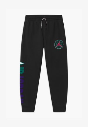 MOUNTAINSIDE  - Tracksuit bottoms - black