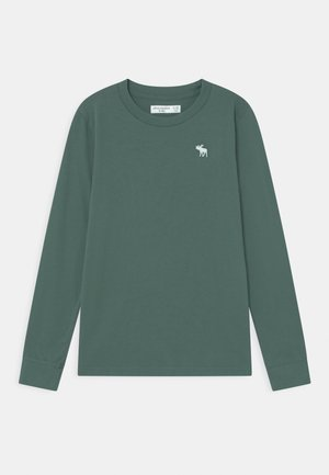 BASICS - Long sleeved top - dark green