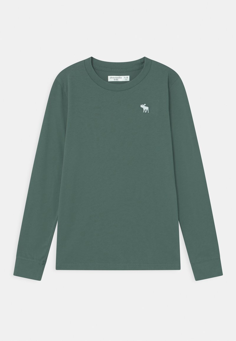 Abercrombie & Fitch - BASICS - Long sleeved top - dark green