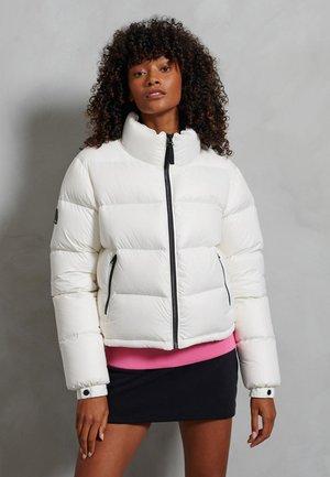 LUXE ALPINE - Down jacket - white