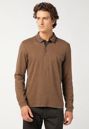 GESTREIFT - Polo shirt - gelb