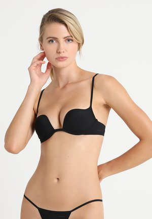 PADDED WITHOUT WIRE COP - Push-up bra - black