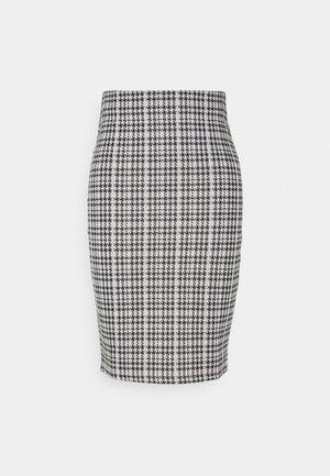 VIHOUNDI PENCIL SKIRT - Falda de tubo - black/white