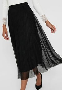 ONLY - Pleated skirt - black - 3