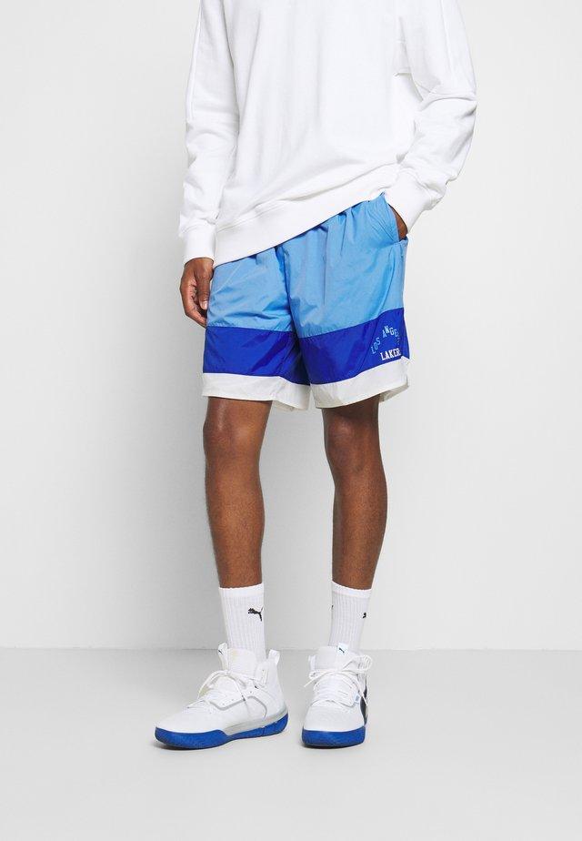 NBA LOS ANGELES LAKERS STRIPED SHORT - Sports shorts - blue