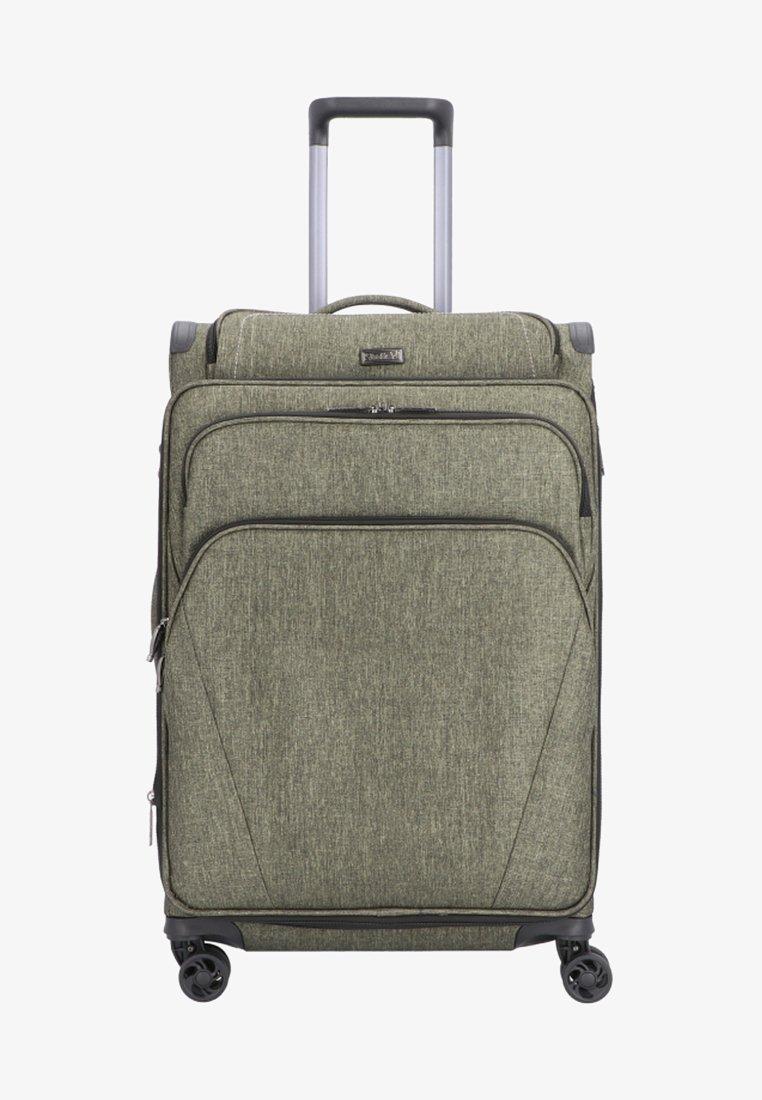 Stratic - MAXCAP  - Wheeled suitcase - khaki
