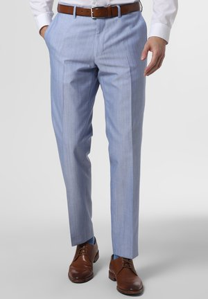 Suit trousers - hellblau