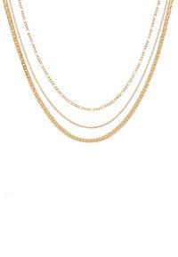 ALDO - QOLIA 3 PACK - Necklace - gold-coloured - 3