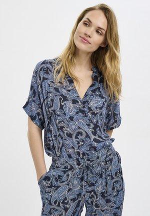 KAEVITY AMBER - Blouse - blue paisley print