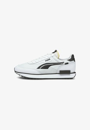 Trainers - white- black