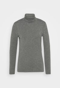 ONLJOANNA ROLLNECK  - Long sleeved top - dark grey melange