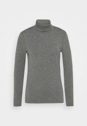 ONLJOANNA ROLLNECK  - Pitkähihainen paita - dark grey melange