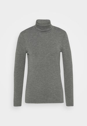 ONLJOANNA ROLLNECK  - T-shirt à manches longues - dark grey melange