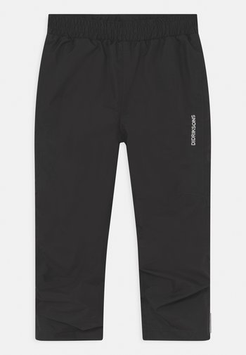 NOBI KIDS UNISEX - Kalhoty do deště - black