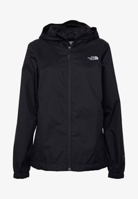 The North Face - QUEST JACKET - Chaqueta Hard shell - black/foil grey - 4