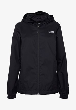 QUEST JACKET - Chaqueta Hard shell - black/foil grey