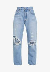 Levi's® - 501® CROP - Jeans straight leg - montgomery patched - 4