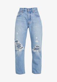 501® CROP - Straight leg -farkut - montgomery patched
