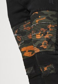 Brave Soul - ROBBIN CAMOO - Jeans Skinny Fit - charcoal wash - 3