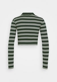 BDG Urban Outfitters - STRIPED CARDI - Long sleeved top - green - 1