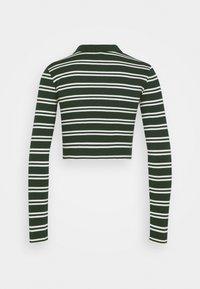 BDG Urban Outfitters - STRIPED CARDI - Langarmshirt - green - 1