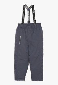 Minymo - SNOW PANT TUSSOR SOLID - Zimní kalhoty - ombre blue - 0