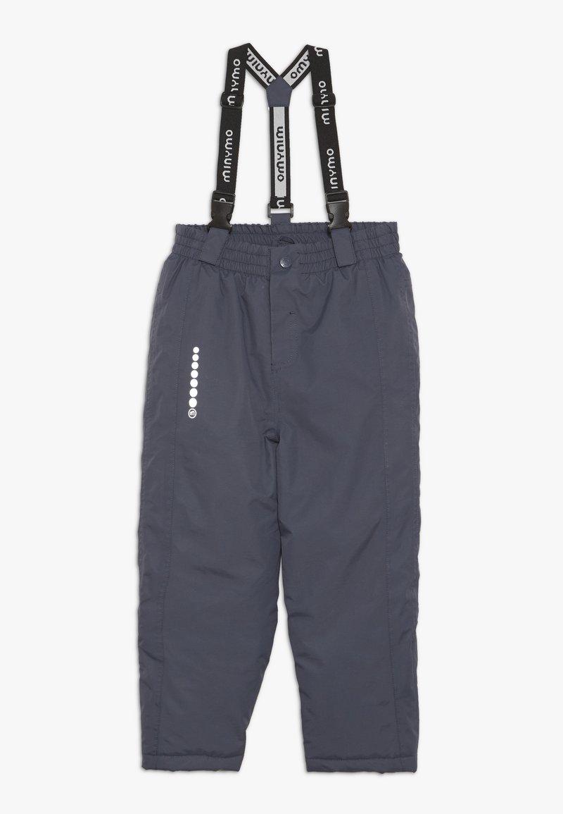 Minymo - SNOW PANT TUSSOR SOLID - Zimní kalhoty - ombre blue
