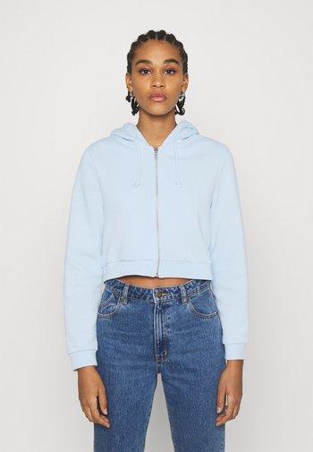 JOANNA HOODIE - Zip-up hoodie - blue light