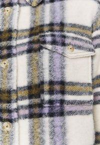 Marc O'Polo DENIM - CHECK COAT LONG - Classic coat - multi/pale beige - 3