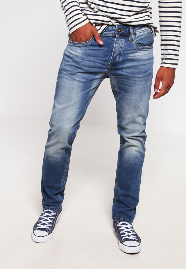 JJIMIKE JJORIGINAL  - Džíny Straight Fit - blue denim