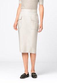 HALLHUBER - Pencil skirt - creme - 0