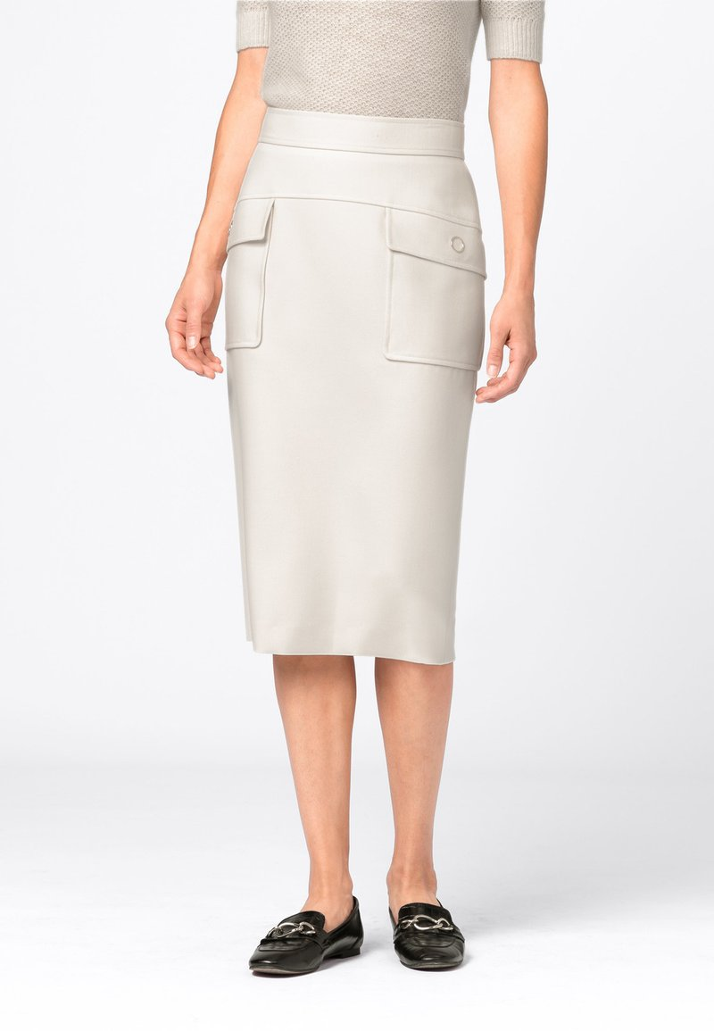 HALLHUBER - Pencil skirt - creme