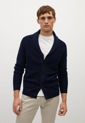 BINGOR-I - Cardigan - dark navy