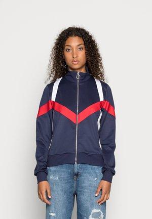 MONA ZIP JACKET - Zip-up sweatshirt - peacoat